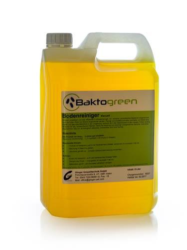 Baktogreen Bodenreiniger (Manuell od. Maschinell)