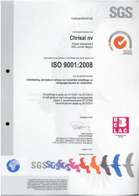 Hersteller ISO 9001-2008 Zertifizierung